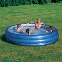 Piscine gonflabila Big Metallic 249 x 53 cm