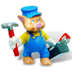Bullyland Little Pigs Mechanic 12492