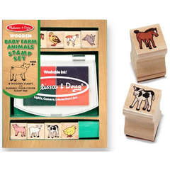 Set de stampile Pui de animale domestice