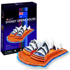 Puzzle 3D Opera din Sidney (41 piese)