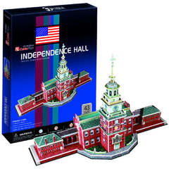 Puzzle 3D Independence Hall Philadelphia (43 piese)