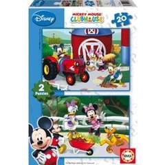 Puzzle Mickey Mouse 2 x 20