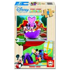 Puzzle Mickey Mouse Club House 2 x 9