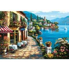 Puzzle Overlook Cafe, Sung Kim 1500 piese