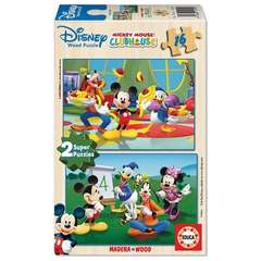 Puzzle 16 Piese cu Mickey Mouse