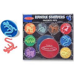 Set de stampile animale favorite