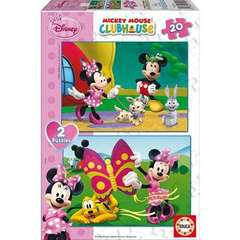 Puzzle Minnie Mouse 2x20