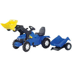 Tractor Cu Pedale Si Remorca Copii ROLLY TOYS 049417