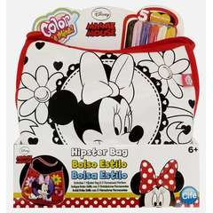 Color Me Mine Hipster Bag Minnie Mouse