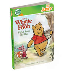 Carte Tag Junior Winnie - Piglet, eroul zilei