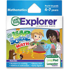 NOU! Soft educational LeapPad - Intelege matematica! LEAP39102 LEAP39102
