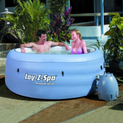 Piscina Lay-Z-Spa Blue