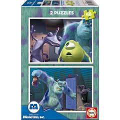 Puzzle Monsters Inc. 2 x 48 piese