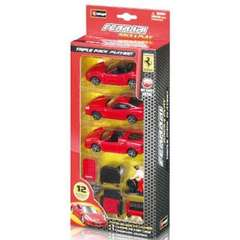 FERRARI TRIPLE PACK PLAYSET