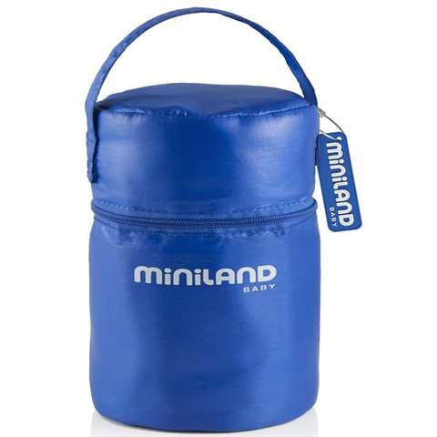 MINILAND Set 2 recipiente cu gentuta 0,25L Blue
