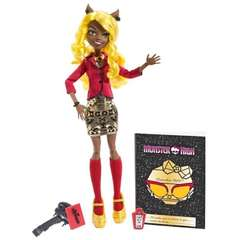 Clawdia Wolf- Monster High Frights Camera Action
