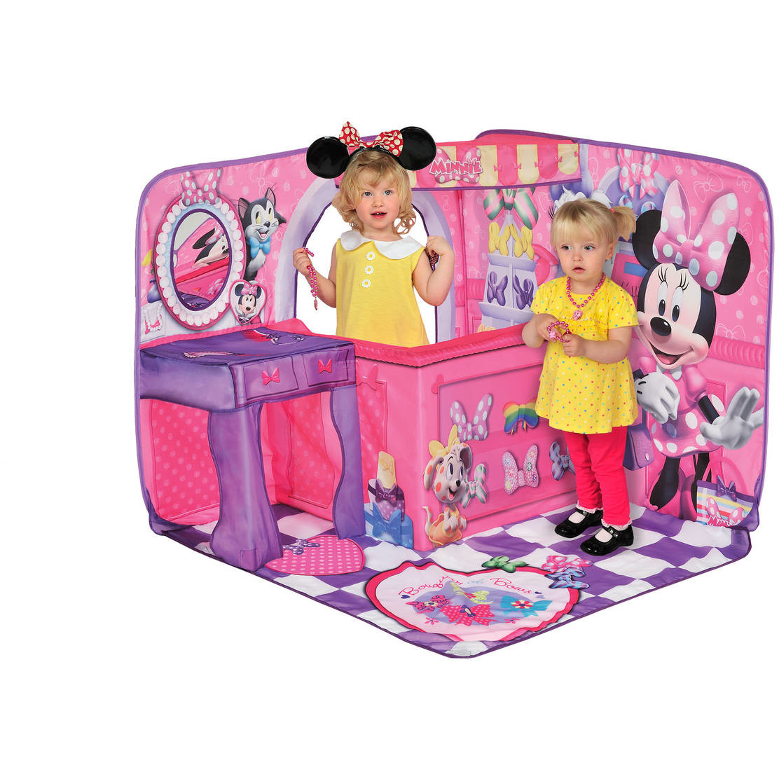 Cort 3d Minnie Bow Tique Playscape