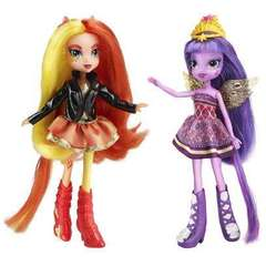 Papusi Equestria Girls Sunset Shimmer si Twilight Sparkle