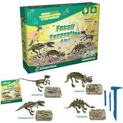 Set paleontologie - 4 in 1