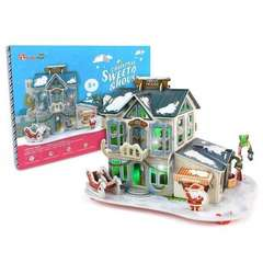 Sweet House - Puzzle 3D - 56 piese