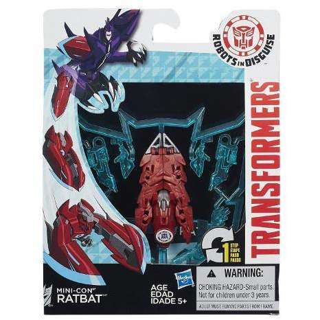Hasbro Robot Transformers Robots in Disguise Mini-Con Ratbat