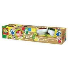 Set 4 Borcane Eco Fingerpaint