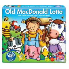 Joc educativ Loto - OLD MACDONALD