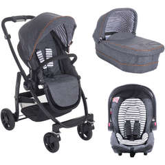 Carucior Graco Evo II  3 in 1 Breton Stripe