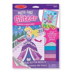 Set creatie cu sclipici Printese si zane Melissa and Doug