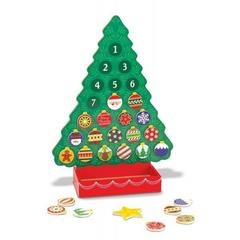 Calendar de Craciun din lemn Melissa and Doug