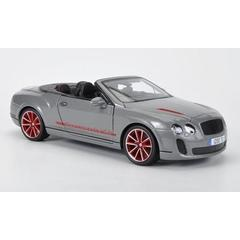 Bentley Continental Supersports Convertible ISR - gri - Kit de asamblare - 1:18