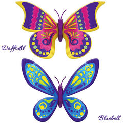 Set 2 bucati Fluturasul magic Daffodil si Bluebell