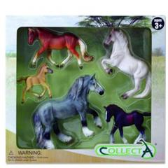 Set 5 figurine viata cailor 1 Collecta