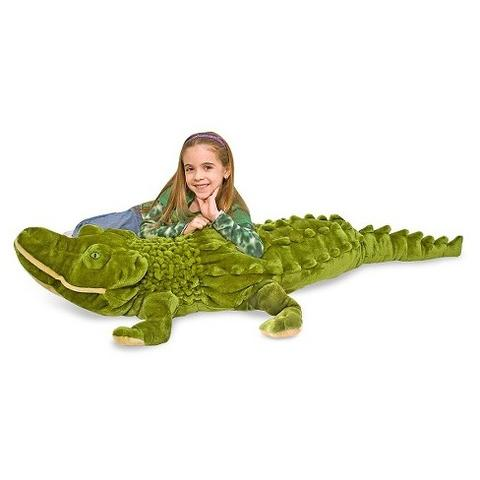 Melissa&Doug Crocodil gigant din plus Melissa and Doug