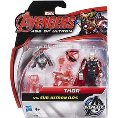 Mini Figurine Avengers - Thor vs Sub Ultron 005