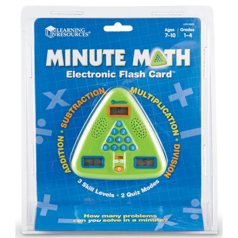 Learning Resources Joc electronic Minute Math