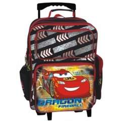 Troler copii - Cars McQueen Dragon Fireball