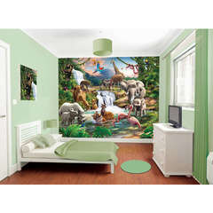 Walltastic Tapet pentru Copii Jungle Adventure