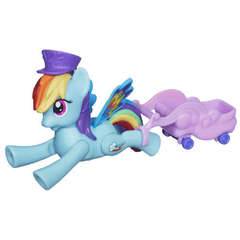 Hasbro My Little Pony - Rainbow Dash Zoom and Go Party
