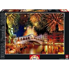Puzzle Artificii Rialto Bridge