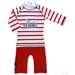 Costum de baie SeaLife red marime 86- 92 protectie UV