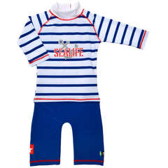 Costum de baie SeaLife blue marime 74- 80 protectie UV Swimpy