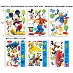 Walltastic Kit Decor Mickey Mouse Clubhouse