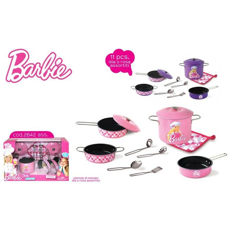 Set Bucatarie Barbie Mov Faro