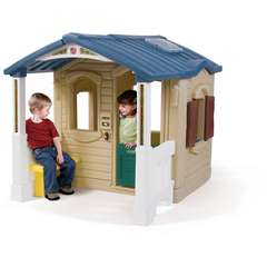 Casuta cu pridvor - Naturally Playful Front Porch Playhouse