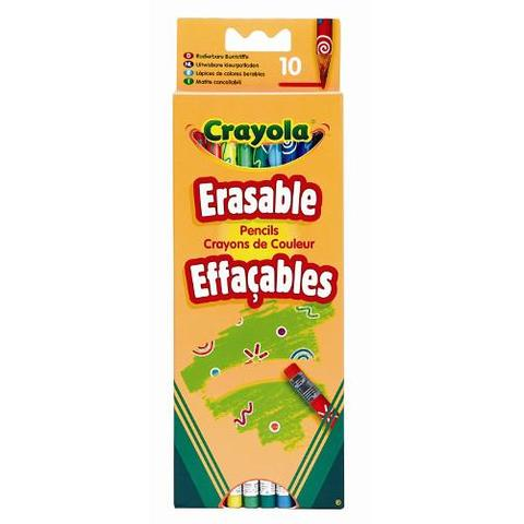 Crayola Set 10 Creioane Care se Pot Sterge