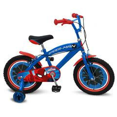Bicicleta Spiderman 16`