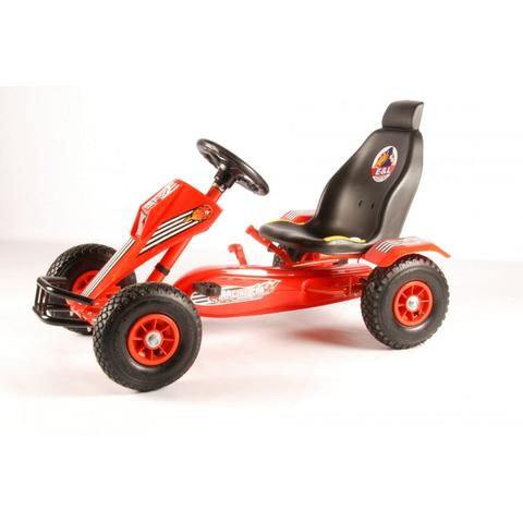 E & L CYCLES Go Kart Racing Rosu