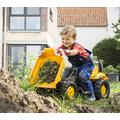Rolly Toys Tractor cu Pedale Kid Dumper JCB